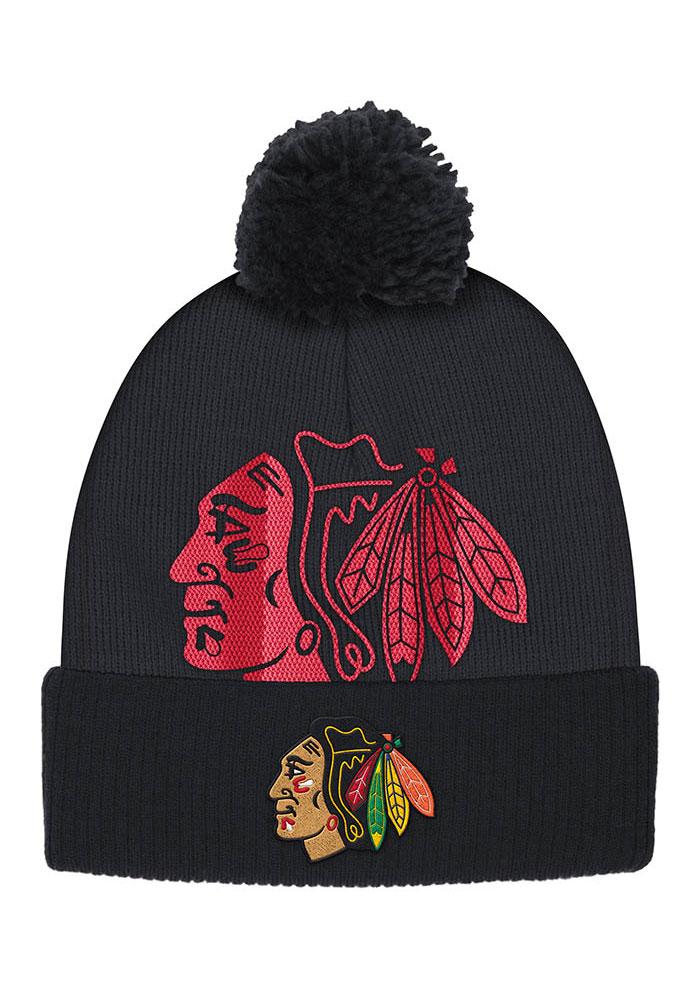Chicago Blackhawks Women's Cuffed Knit Hat